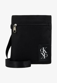Calvin Klein Jeans - SPORT ESSENTIALS MICRO FLAT PACK - Across body bag - black - 6