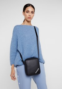 Calvin Klein Jeans - STITCH MICRO - Borsa a tracolla - black - 5