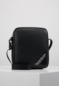 Calvin Klein Jeans - STITCH MICRO - Borsa a tracolla - black - 0