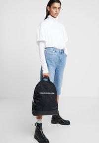 Calvin Klein Jeans - MONOGRAM - Ryggsekk - black - 5