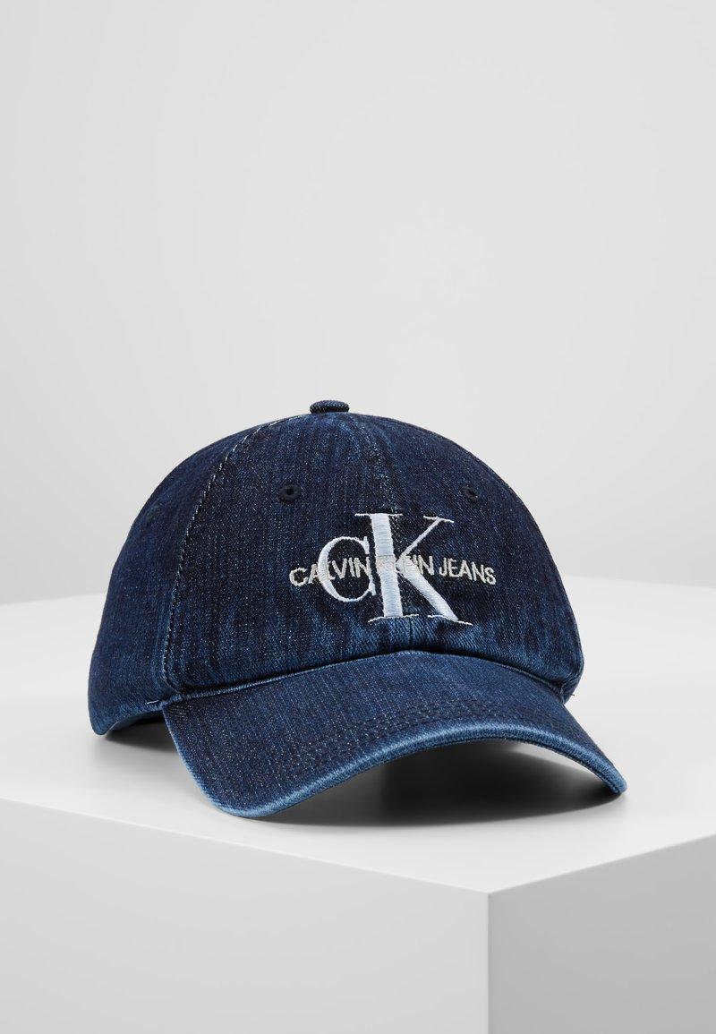 Calvin Klein Jeans - MONOGRAM  - Cap - dark blue denim