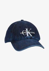 Calvin Klein Jeans - MONOGRAM  - Cap - dark blue denim - 5