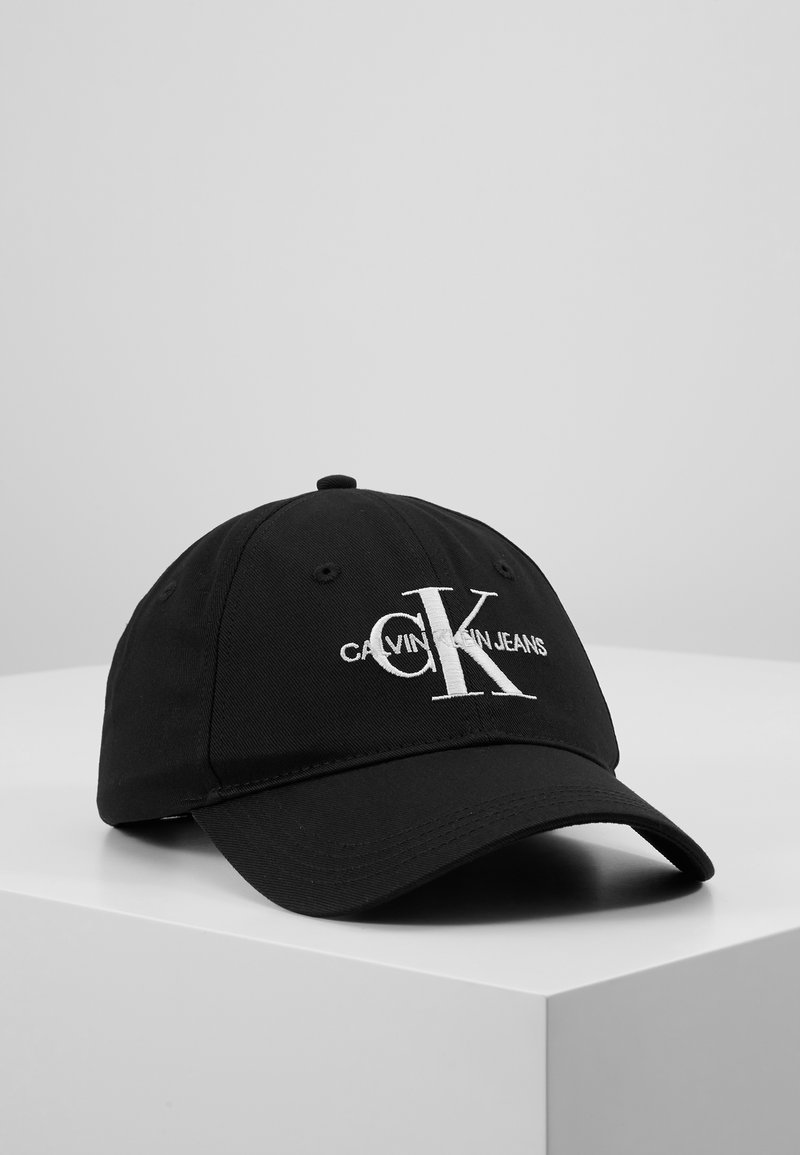 Calvin Klein Jeans - MONOGRAM WITH EMBROIDERY - Cap - black