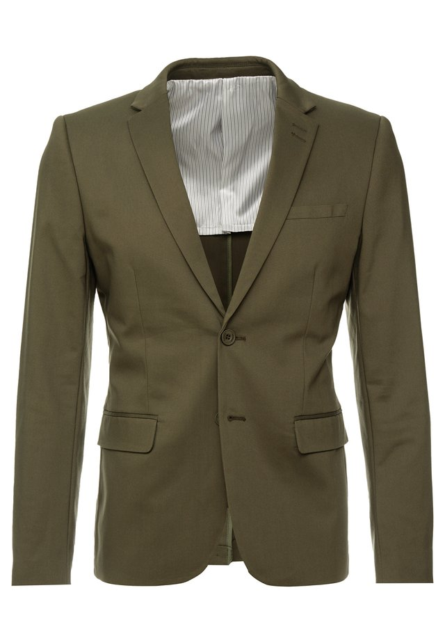 Suit jacket - forest night green