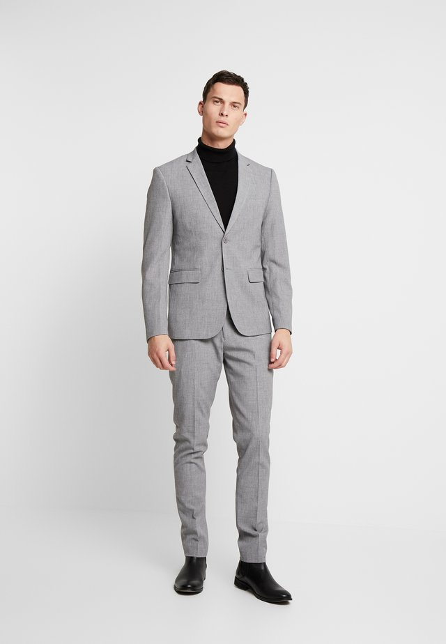 CFPHILIP CFBIRK SUIT - Colbert - light grey melange