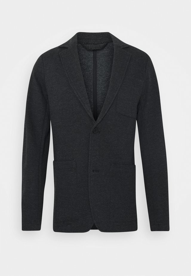 BIRK SLIM - blazer - anthracite/black