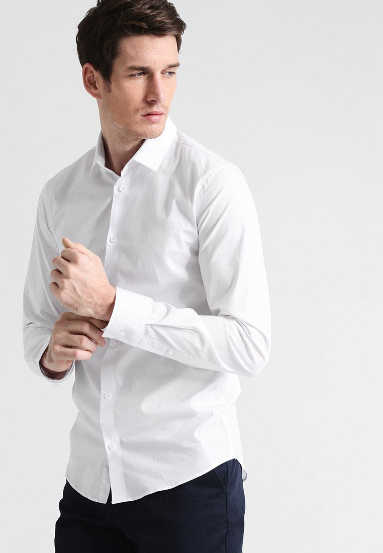 Casual Friday - SLIM FIT - Camisa - bright white