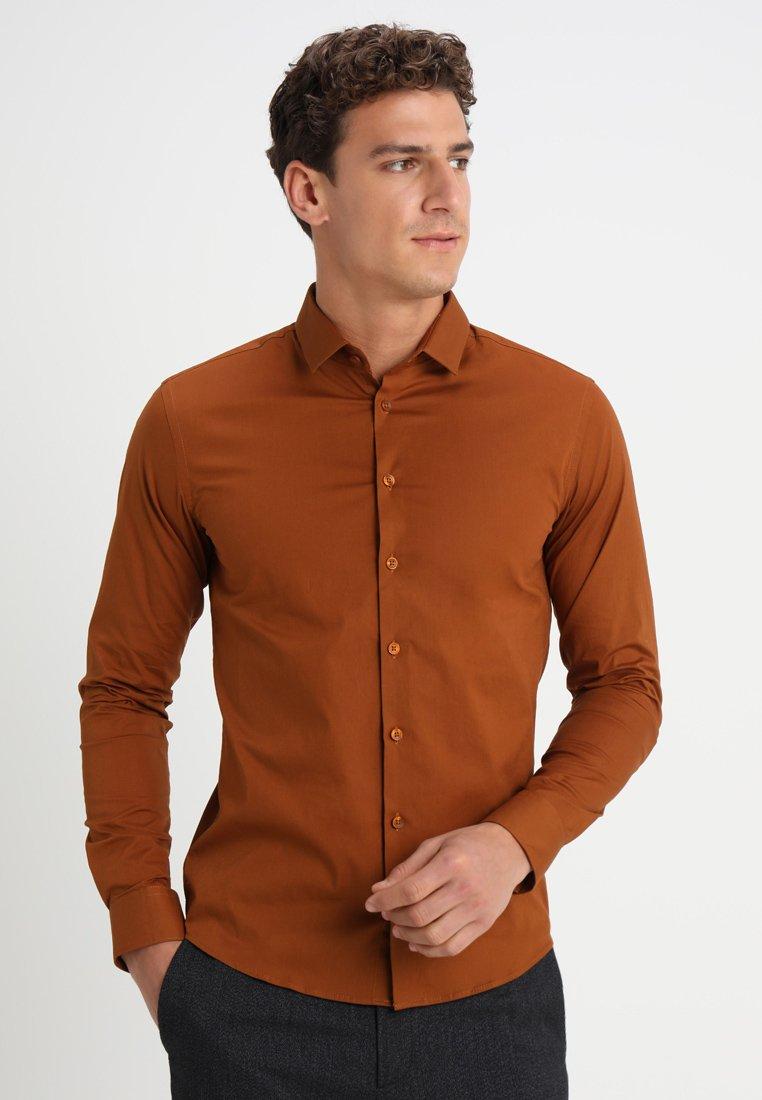 Casual Friday - SLIM FIT - Camisa - mustard