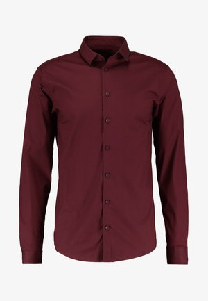 Camicia - merlot red