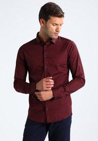 Casual Friday - Shirt - merlot red - 0