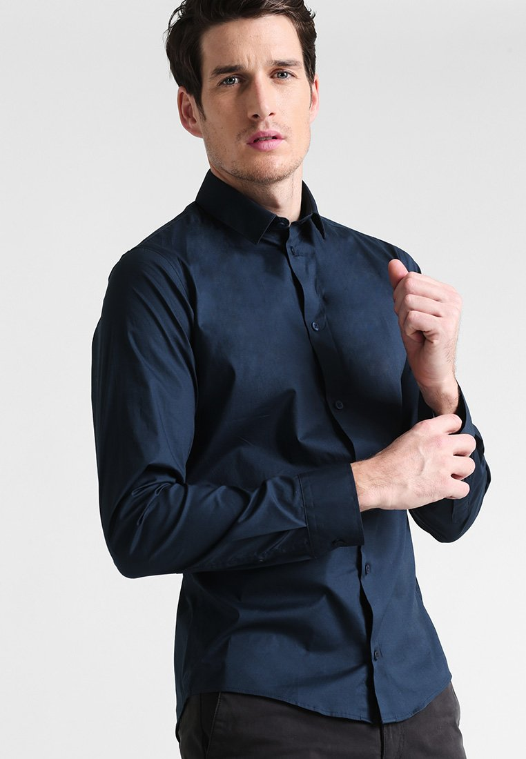 Casual Friday - SLIM FIT - Camicia - navy