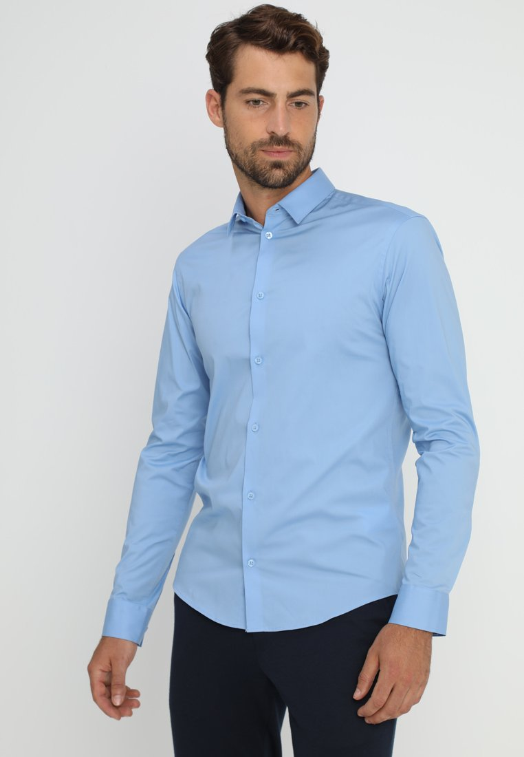 Casual Friday - SLIM FIT - Camisa - robbia blue
