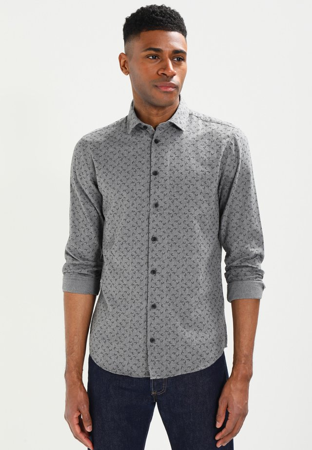 Hemd - dark grey melange
