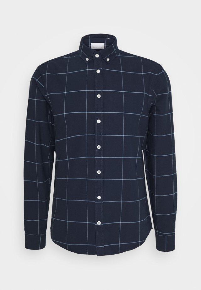 ANTON - Skjorta - navy blazer