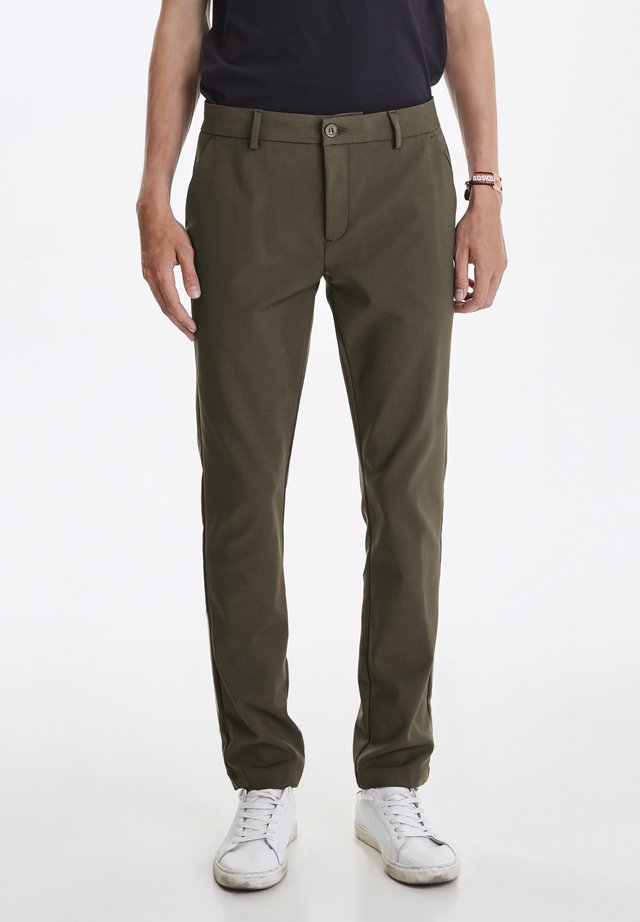 PHILIP - Broek - forest green
