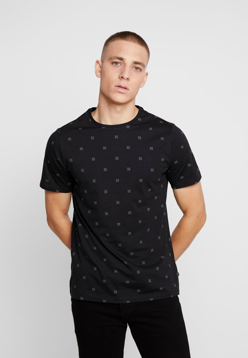 Casual Friday - T-shirt con stampa - black