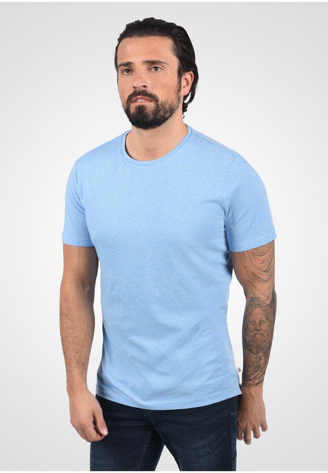Basic T-shirt - bell blue