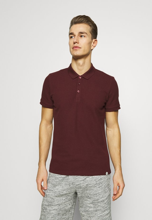 TURNER - Polo shirt - merlot red