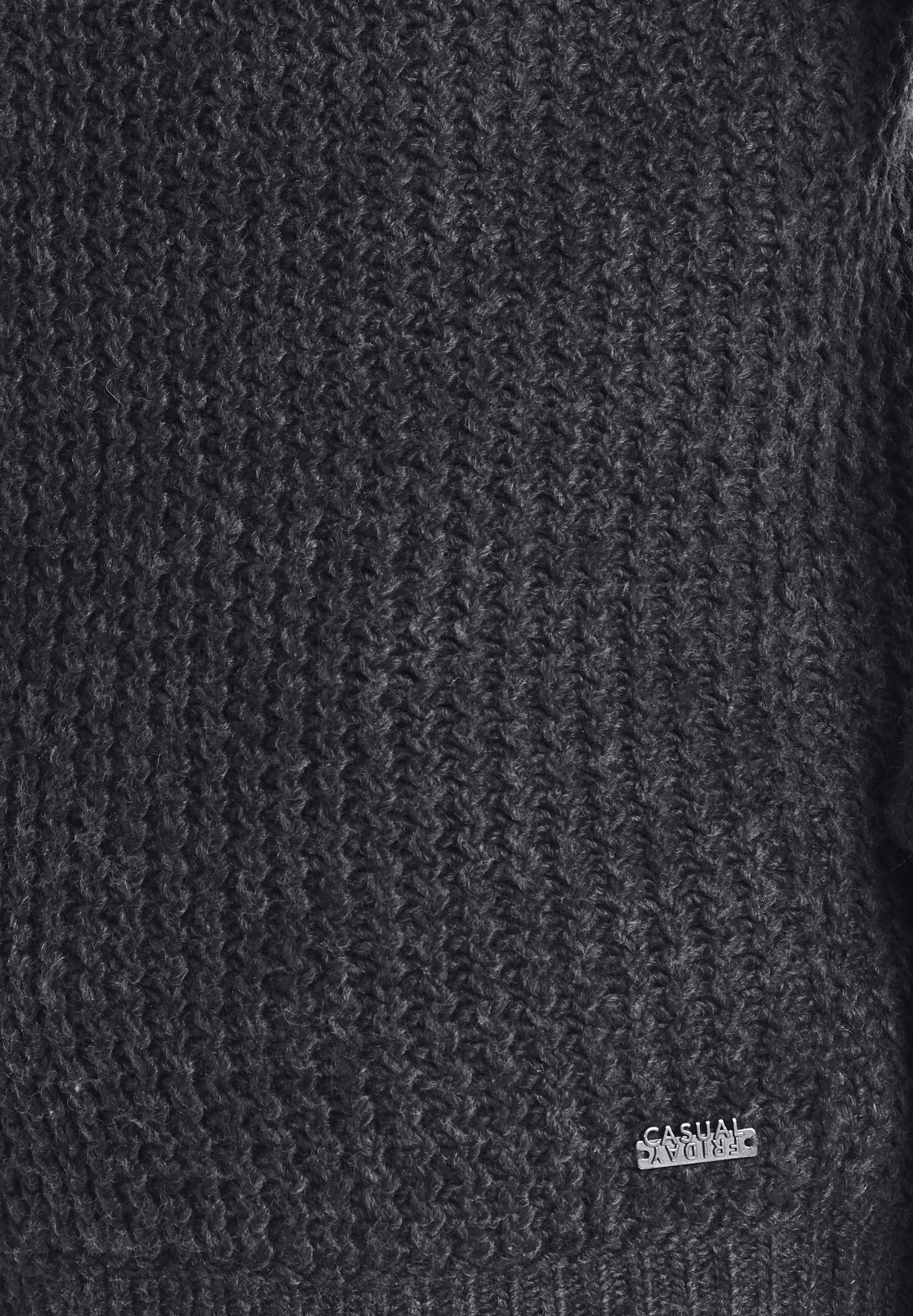 Casual Friday Gilet - Dark Grey Melange