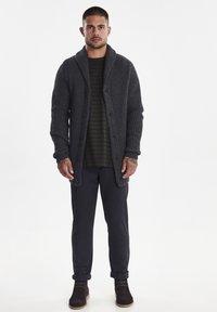 Casual Friday - Vest - dark grey melange - 1