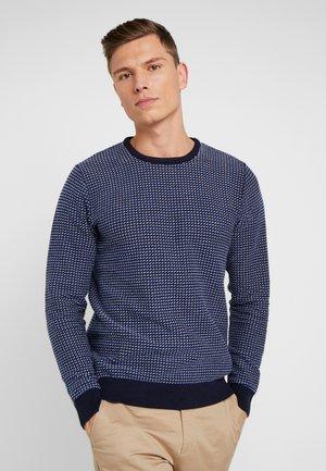 PULLOVER CFKLAES - Stickad tröja - navy blazer