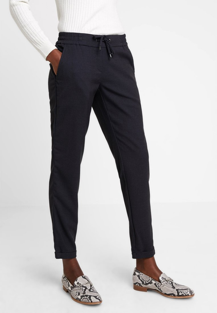comma casual identity - Trousers - blue dobby