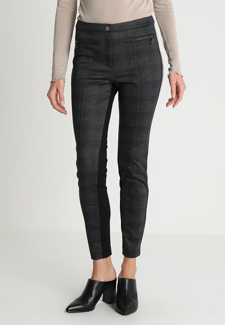 comma casual identity - Leggings - Hosen - grey/black