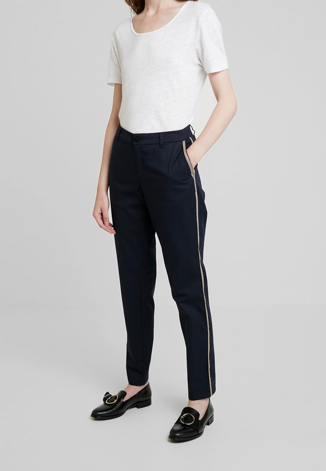 Pantalones chinos - marine