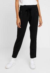 comma casual identity - TROUSERS - Pantaloni - black - 0