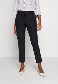 comma casual identity - Spodnie materiałowe - marine - 0