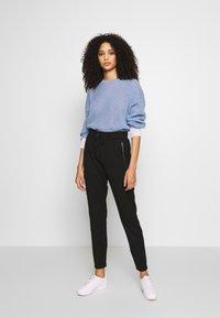 comma casual identity - Pantalones deportivos - black - 1