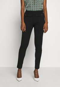 comma casual identity - Trousers - black - 0