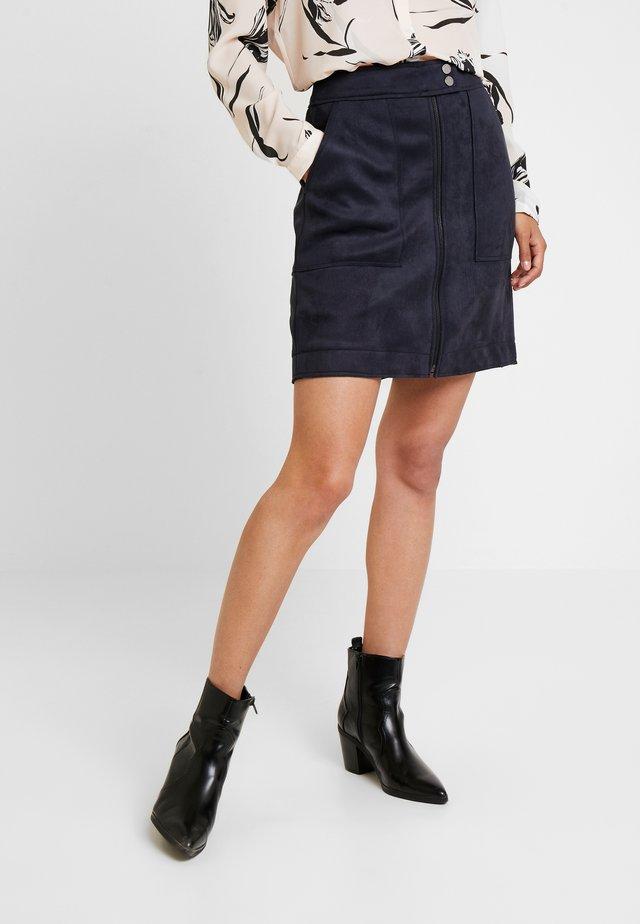 KURZ - A-line skirt - marine