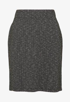 Spódnica mini - grey/black