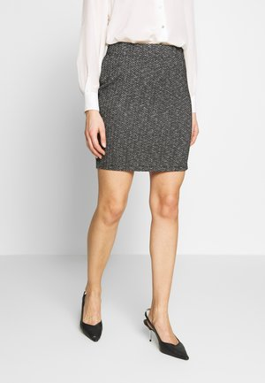 Minifalda - grey/black
