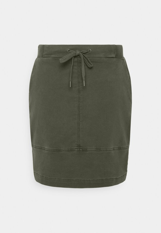 Mini skirt - green