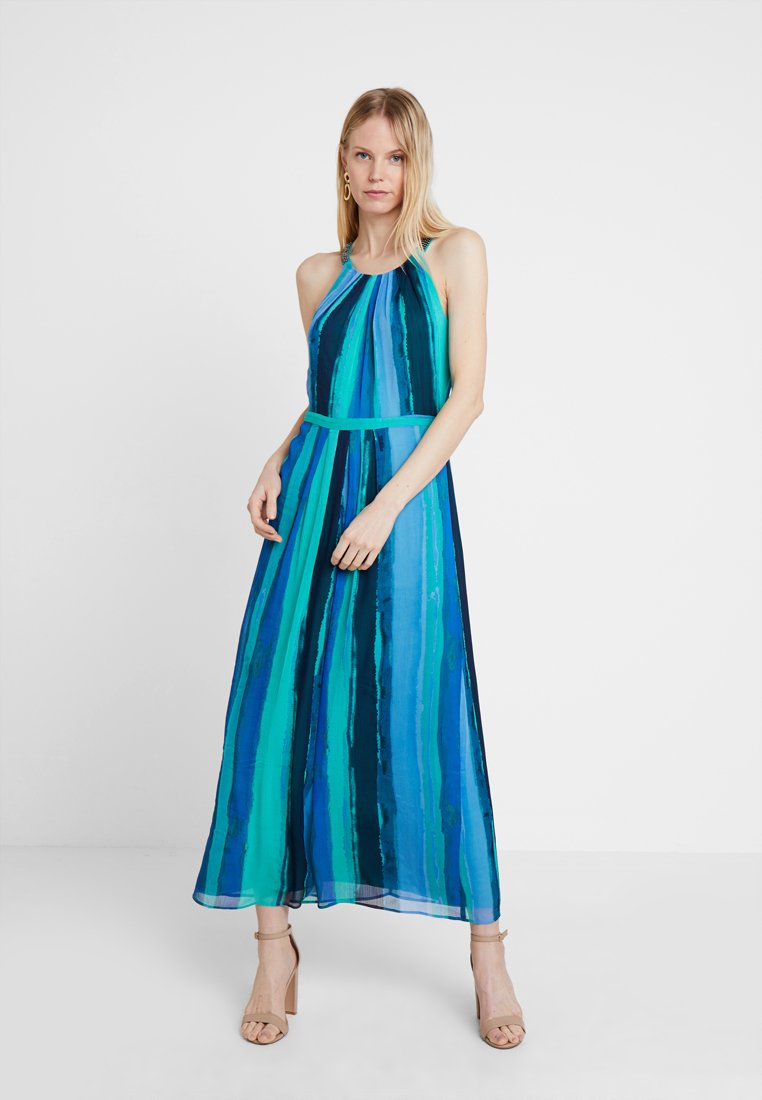 comma casual identity - Maxikleid - blue/green