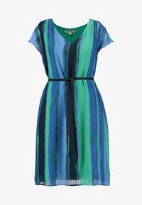 comma casual identity - Vestito estivo - blue/green - 3