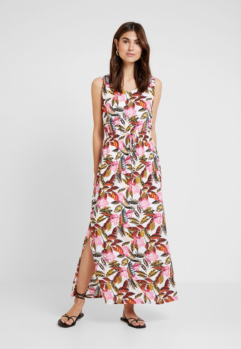comma casual identity - LANG - Maxi dress - white