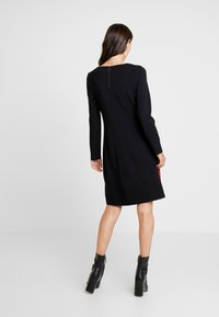 comma casual identity - DRESS TAPE - Jersey dress - black - 2