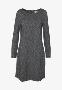 comma casual identity - Jumper dress - grey/black - 4
