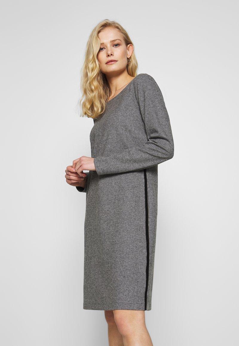 comma casual identity - Day dress - grey/black