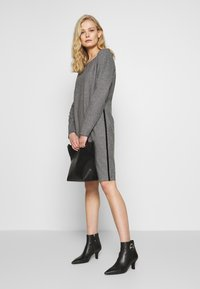 comma casual identity - Day dress - grey/black - 1