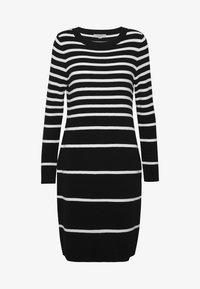 comma casual identity - Sukienka dzianinowa - black - 5