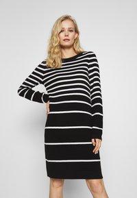 comma casual identity - Jumper dress - black - 0