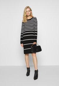 comma casual identity - Jumper dress - black - 1