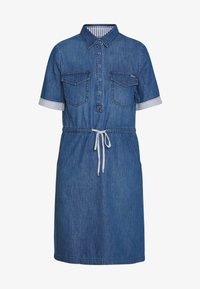 comma casual identity - Day dress - blue denim - 4