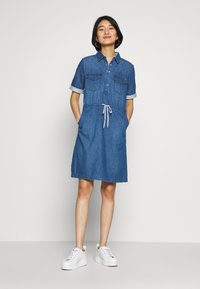 comma casual identity - Day dress - blue denim - 1