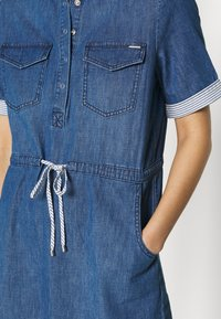 comma casual identity - Day dress - blue denim - 5