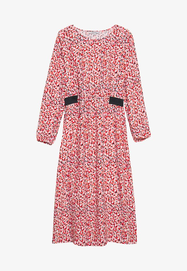 Denní šaty - red